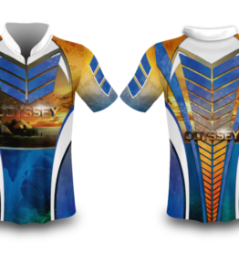 Odyssey Apparel Fishing Shirt Sublimation Design #1