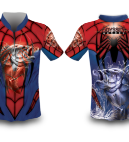 Sublimation Fish Heroes – Spider Man (Bass)