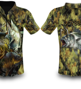 Odyssey Apparel Fishing Shirt Sublimation Shirt Design #12