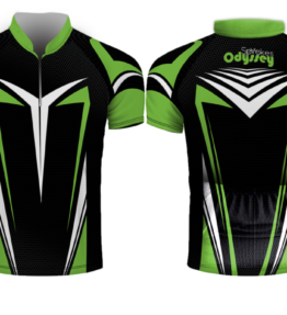 Design #1 Sublimated Cycling Shirt