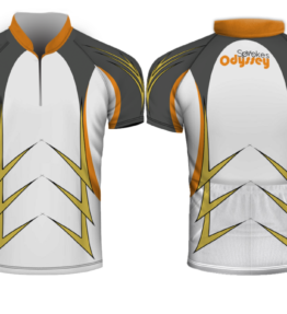 Design #2 Sublimated Cycling Shirt