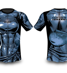 Odyssey Fishing Shirt Sublimation Fish Heroes - Cat Woman