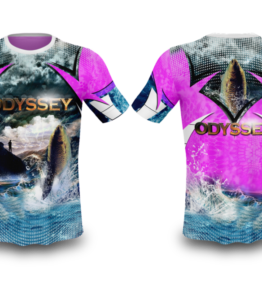 Odyssey Apparel Fishing Shirt Sublimation Design #4