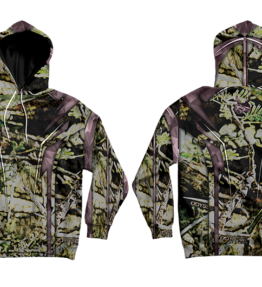 Odyssey Camo Uil Pink Hoodie