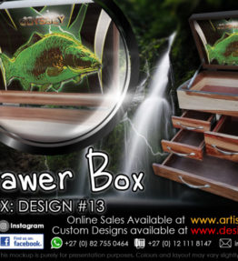 4 Drawer Tackle Boxes | Design #13