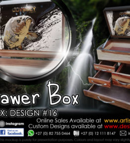 4 Drawer Tackle Boxes | Design #16