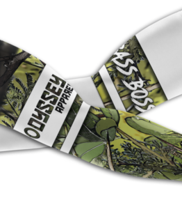 Odyssey Arm Sleeves: Design #22 Bass Green