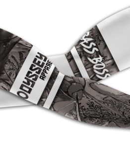 Odyssey Arm Sleeves: Design #22 Bass Grey