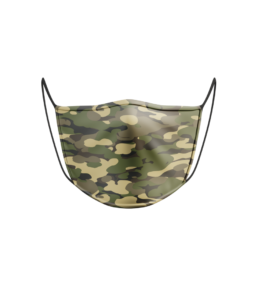 Face Mask: Camo Army