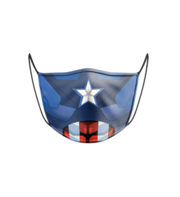 Face Mask: Captain America