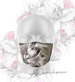 Alicia Exclusive Mask: Dark Protea