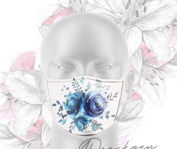 Alicia Exclusive Mask: Blue Bliss