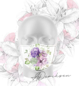 Alicia Exclusive Mask: Purple Passion