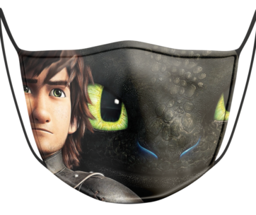 Face Mask: How to train your Dragon