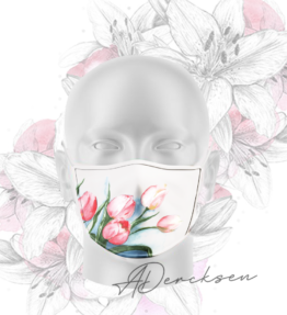 Alicia Exclusive Mask: Tranquil Tulips