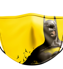 Face Mask: Batman Yellow