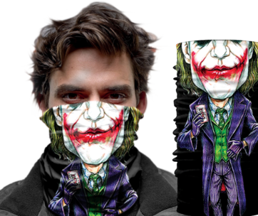 Face Wear: Joker Suit