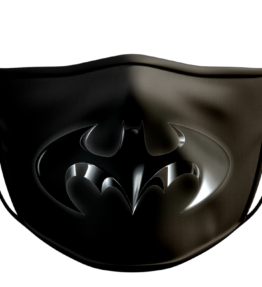 Face Mask: Batman Logo Black