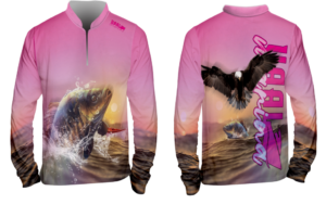 Long Sleeve Clear Pink