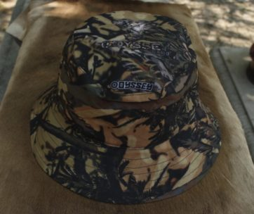 Bucket Hat: Camo Olifant
