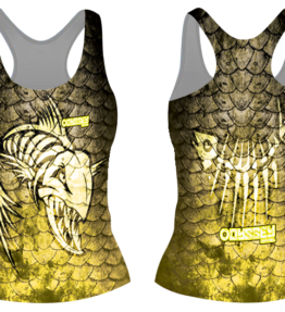 Odyssey Apparel Tanktop D#29 Yellow