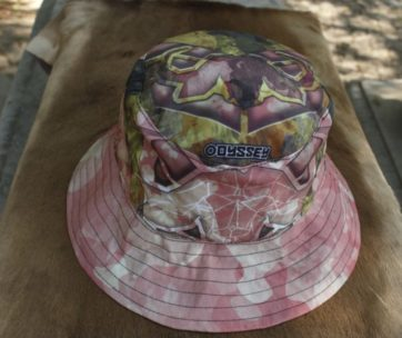 Bucket Hat: Camo Buffel Pink