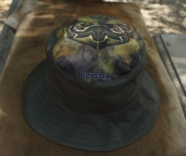 Bucket Hat: Khaki Buffel