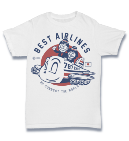 Cartoon T's: Best Airlines
