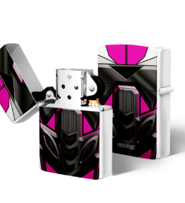 Zippo type Lighter: Bike Pink