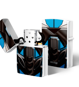 Zippo type Lighter: Bike Blue