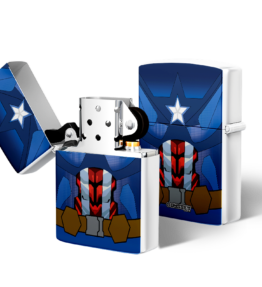 Zippo type Lighter: Captain America
