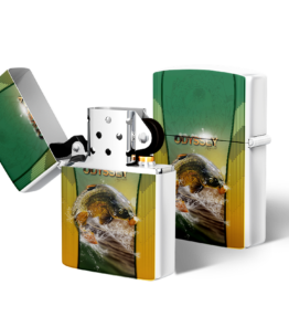 Zippo type Lighter: Design #17 Carp
