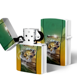 Zippo type Lighter: Design #17 Bass