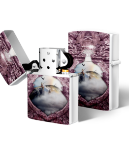 Zippo type Lighter: Design #19 Pink