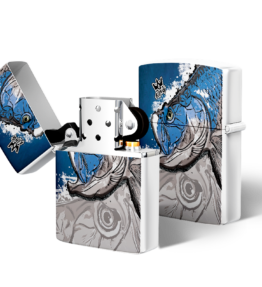 Zippo type Lighter: Design #20 King Fish