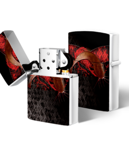 Zippo type Lighter: Design #21 Baber