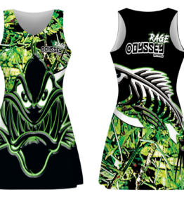 Fishing Dress Design #28 RAGE Green