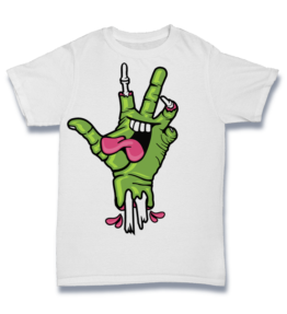 Cartoon T's: Hand Mouth