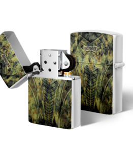 Zippo type Lighter: Buffel Camo Green