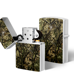 Zippo type Lighter: Camo Olifant Green
