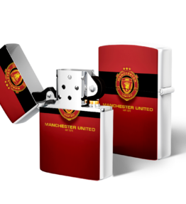 Zippo type Lighter: Manchester United Maroon