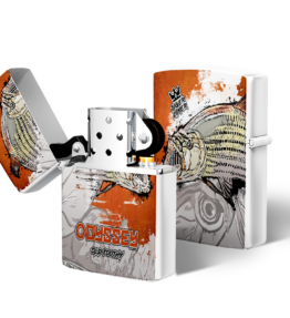 Zippo type Lighter: Design #20 Tiger Fish