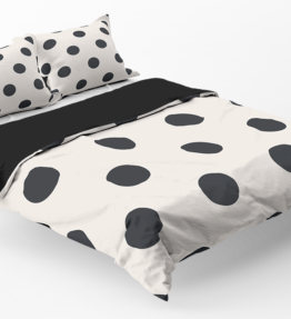 Bedding | Black Dots