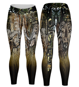 Odyssey Camo Leggings - Grass Buffalo