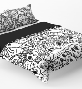 Bedding | Cute Monsters 15