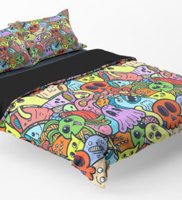 Bedding | Cute Monsters 5