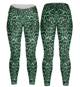 Leggings Emerald & Gold 20
