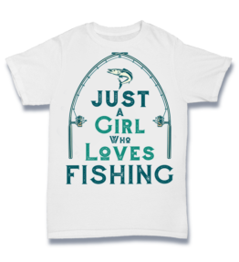 Simple T - Girls Love Fishing