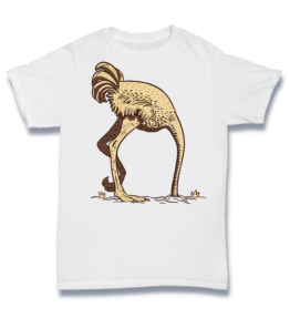 Simple T - Ostrich