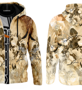 Odyssey Hoodie | Floral Scull D#2 (Copy)